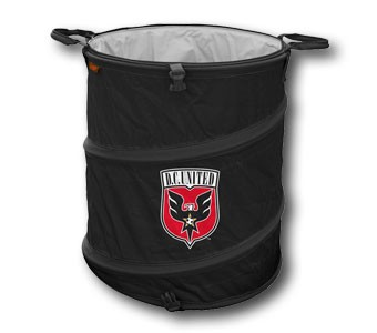 Calling all fans save money on d c united gear head to rfk on saturday black and red united - Collapsible trash can ...