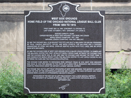 In memory of great Cubs past