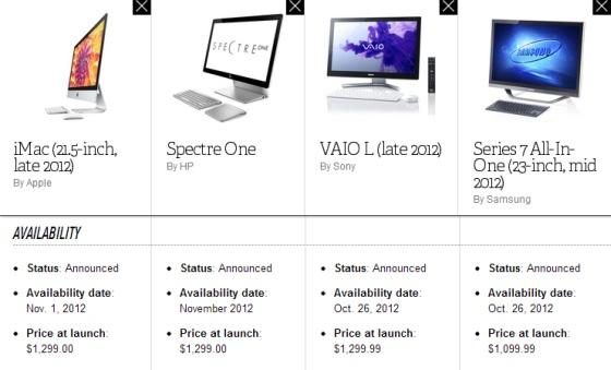 27-Inch iMac vs HP