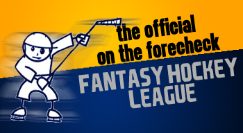 On the Forecheck Fantasy Hockey League