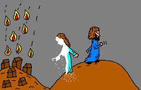 Clipart_sodom_and_lot
