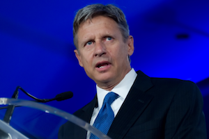 opinion gary johnson could cost obama romney