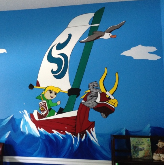 The legend of zelda nursery how a dad crafted the magic for Chambre zelda
