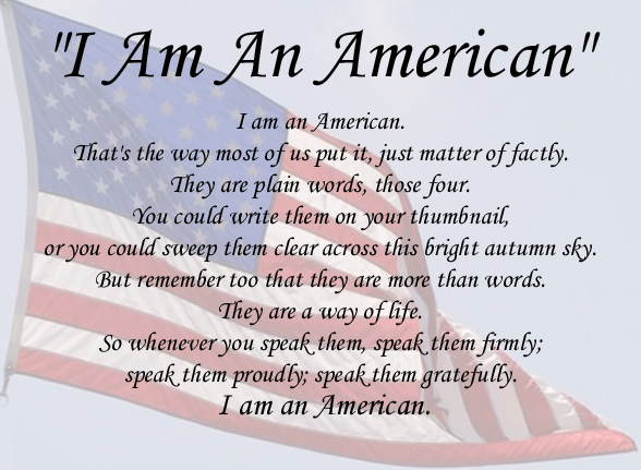 I Am An American - Hammer and Rails