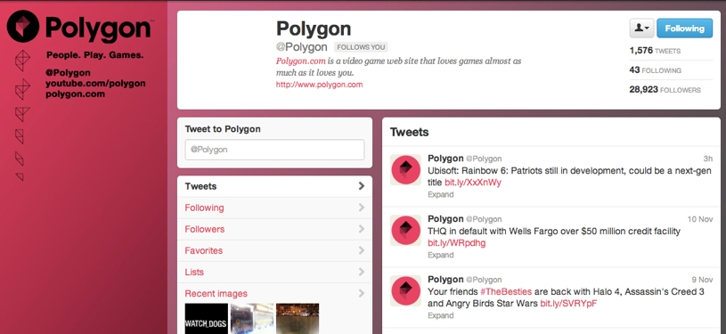 Polygontwitter
