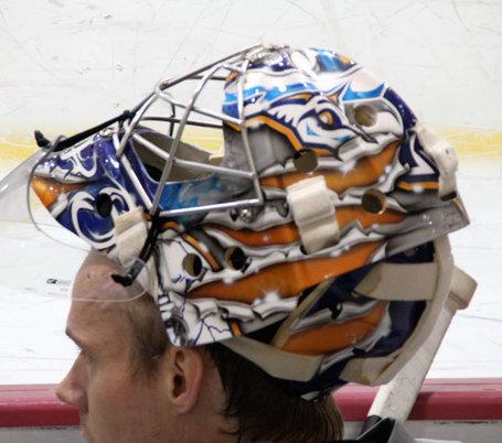 Pekka Rinne goalie mask