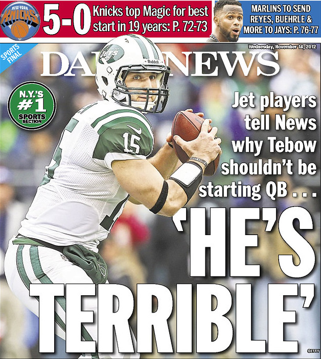 Tebow-terrible