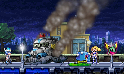 Mighty Switch Force 3DS