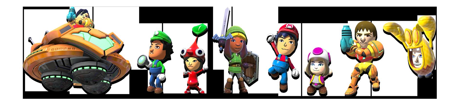 Nintendo-land-characters