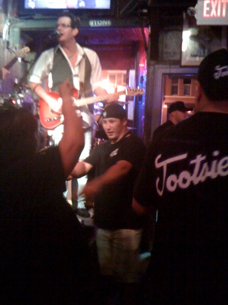 Jordin Tootoo at Tootsie's Orchid Lounge