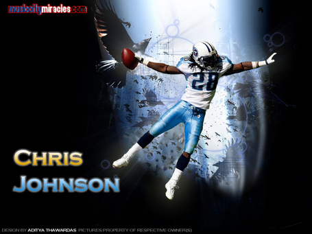 Chris Johnson Tennessee Titans Running back Wallpaper