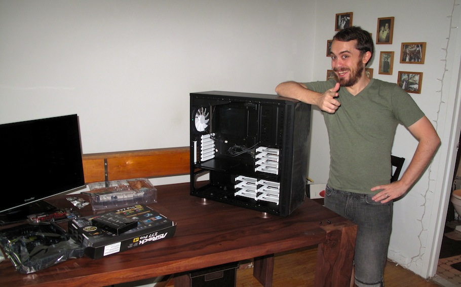 How to build a PC: A comedy of system errors