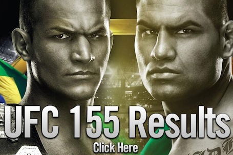 UFC 155 Results