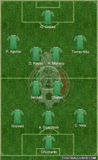 Mexico lineup 2