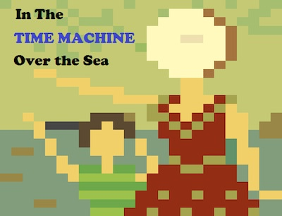 In the Time Machine Over the Sea