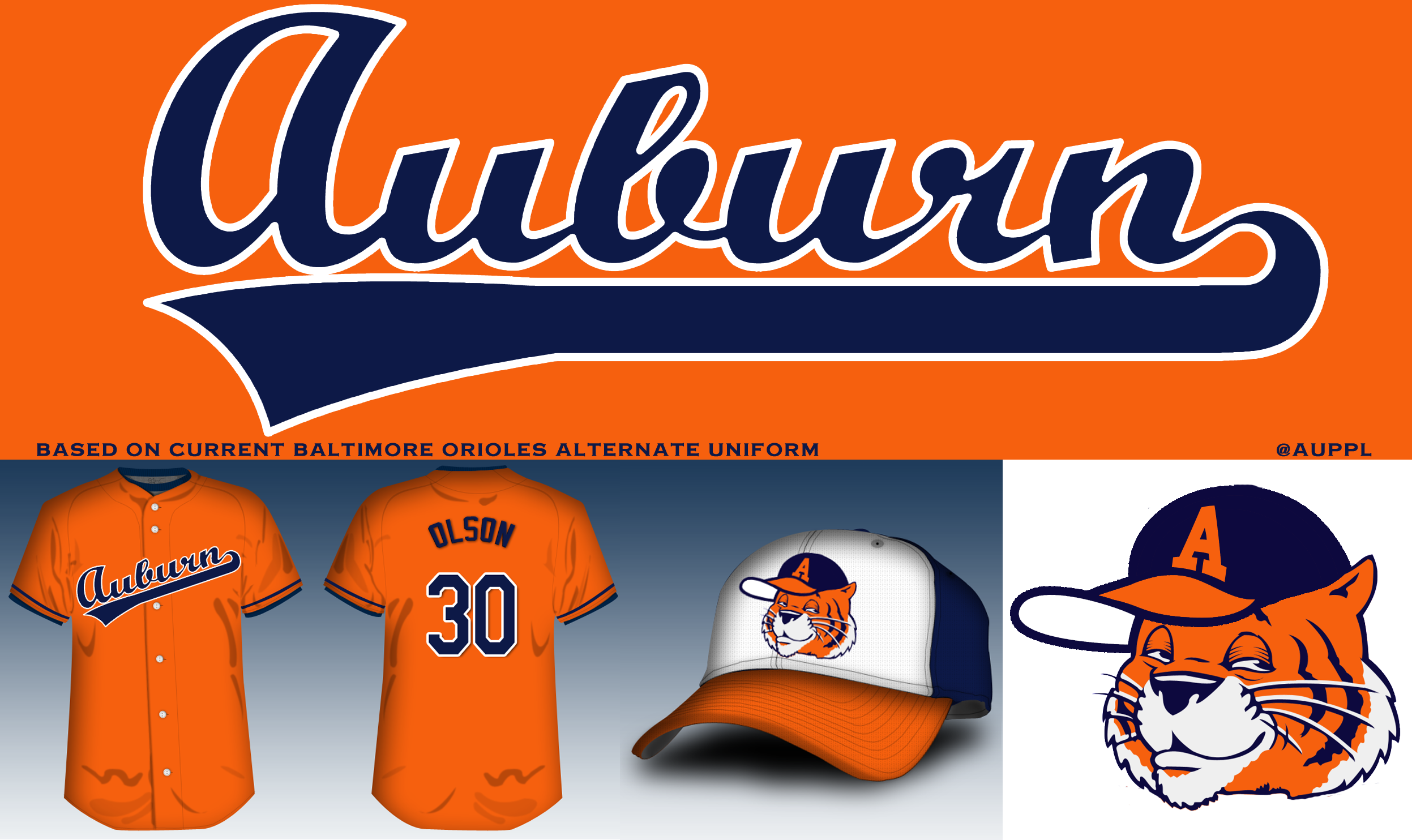 Redesigning The Auburn Baseball Uniform