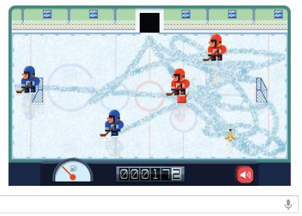 Frank Zamboni google doodle hockey level