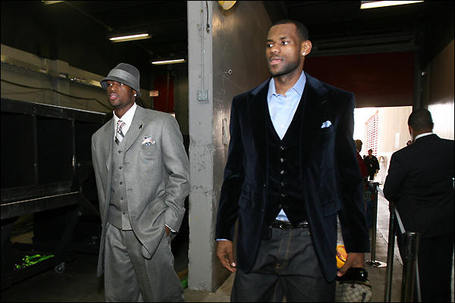 East-all-stars-dwayne-wade-and-lebron-james-arrive-at-the-arenas-prior-to-the-nba-all-star-game_medium