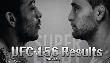 UFC 156 Results
