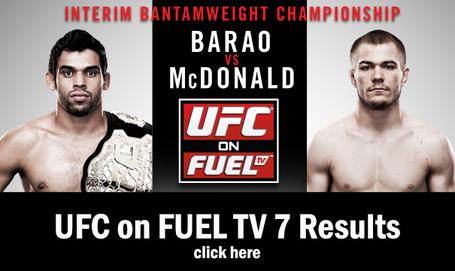 UFC on FUEL TV 7 Results