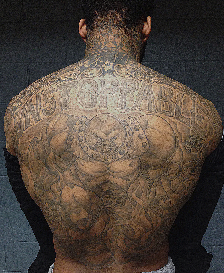 Wilson Chandler Tattoos