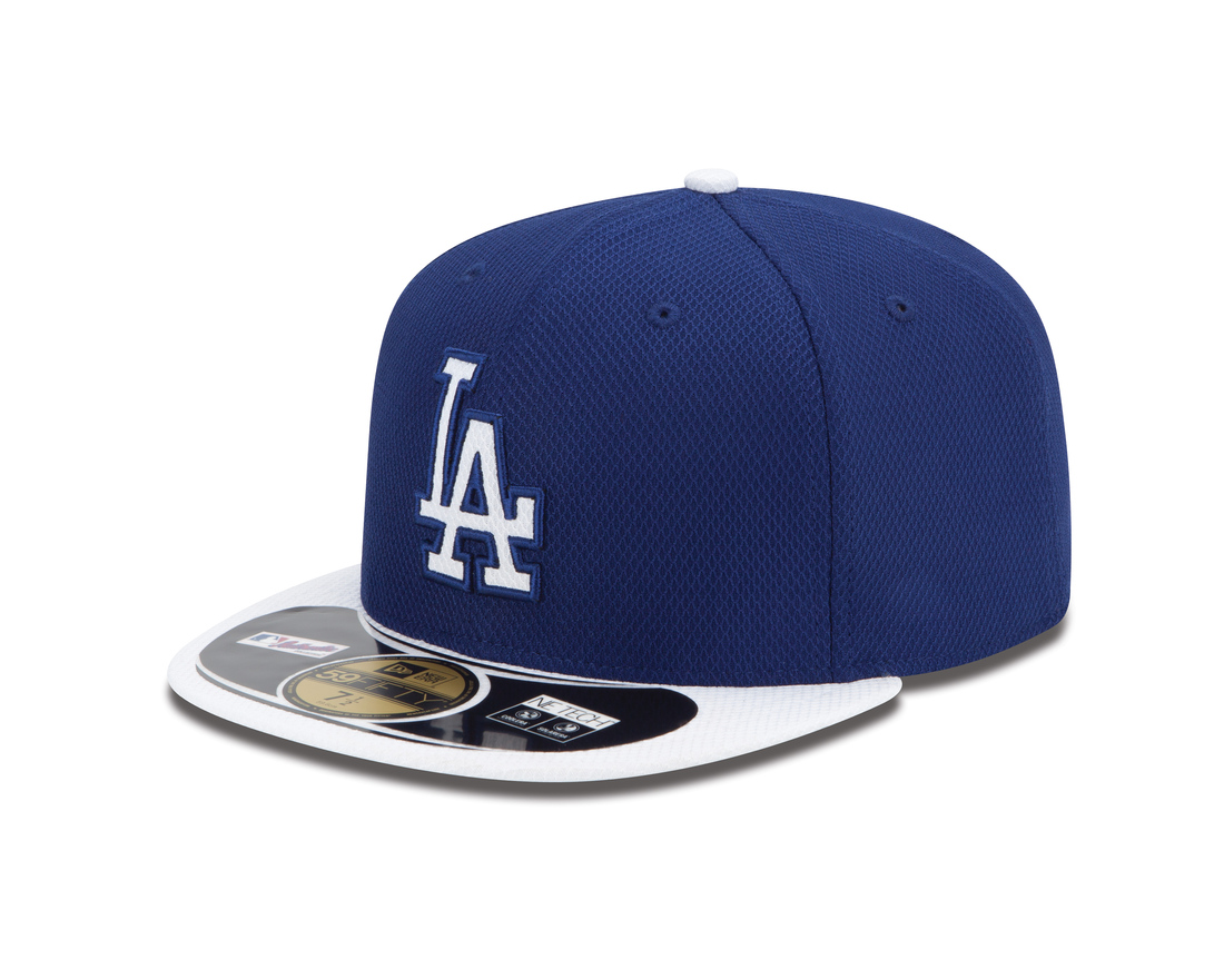 The Dodgers have two designs, both with some infusion of gray into the