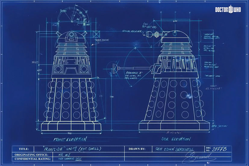 While the melo center serves syracuse the fab melo center remains doctor who dalek blueprint postermedium malvernweather Images