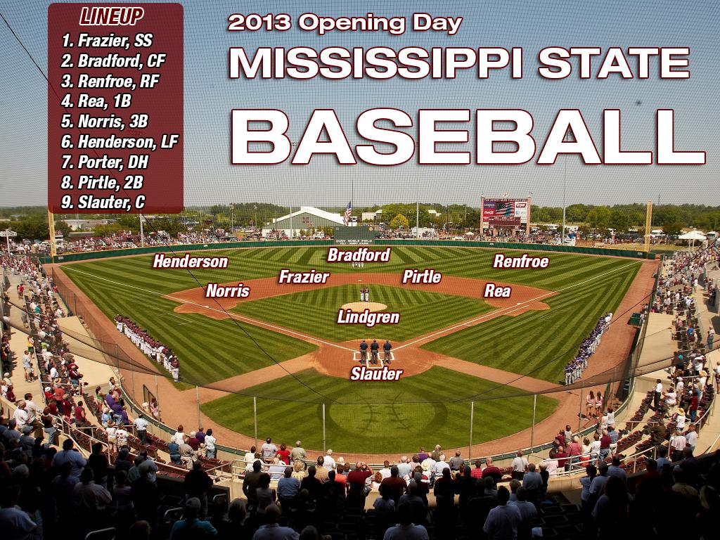 2013 MSU Baseball Opening Day Lineup