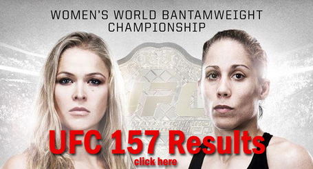 UFC 157 Results