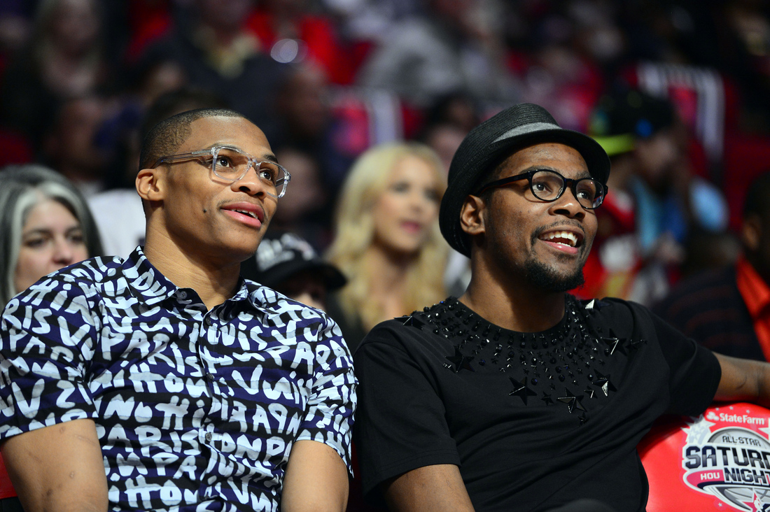 Kevin Durant Hipster Russell Westbroo...