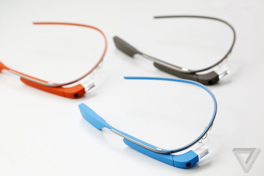 Used google glass the future but with monthly updates the verge