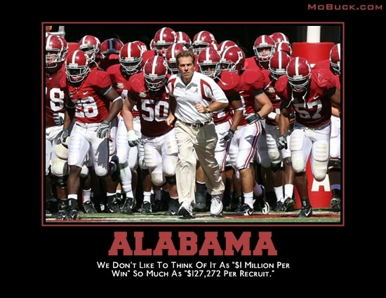 continues his annual tradition of rolling out SEC Motivational Posters.