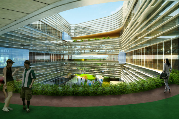 Samsung Campus Nbbj Wants To Force Its