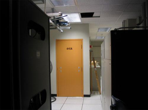 NSA spy room