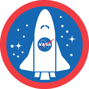 nasa astronaut wings logo - photo #12