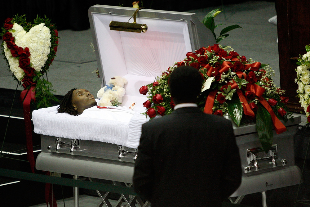 Bengals Attend Funeral...