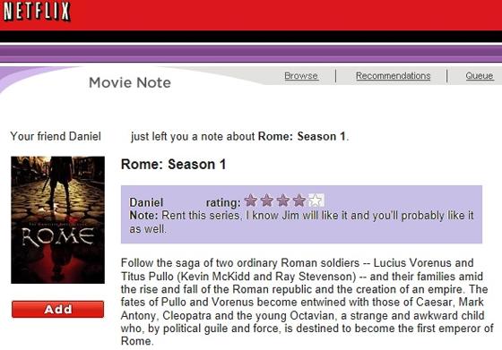 Netflix-notes