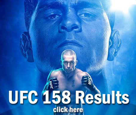 UFC 158 Results
