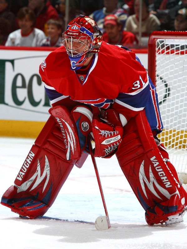 Place A Bid On Carey Price S Centennial Game Worn Mask Eyes On The Prize