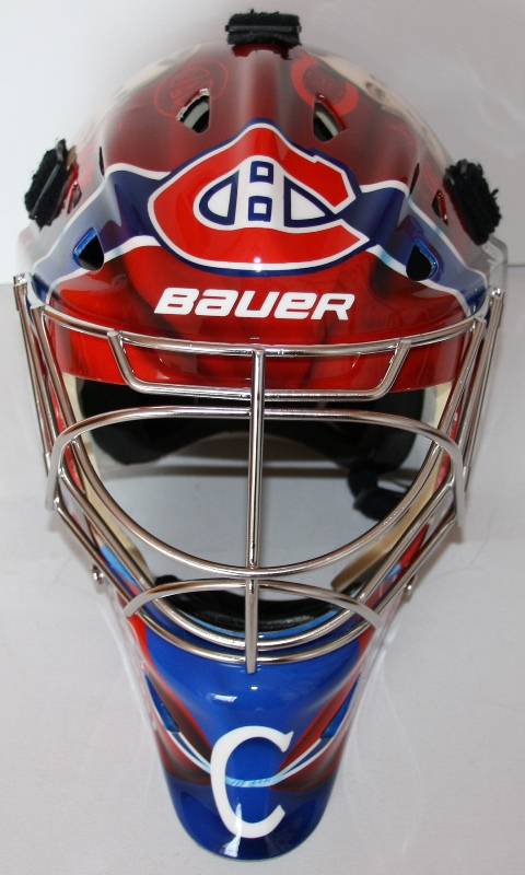 carey price helmet heritage. carey price mask heritage.