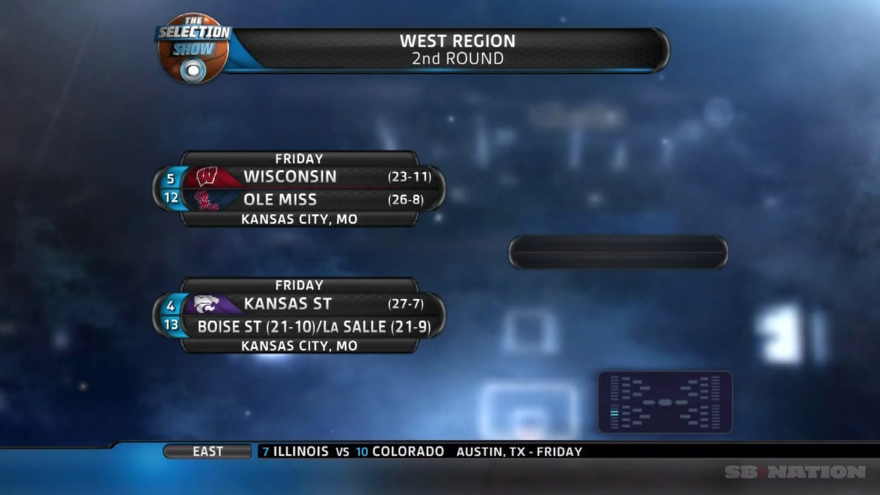 Ncaa Tournament Brackets 2013 Ohio State A 2 Seed In The