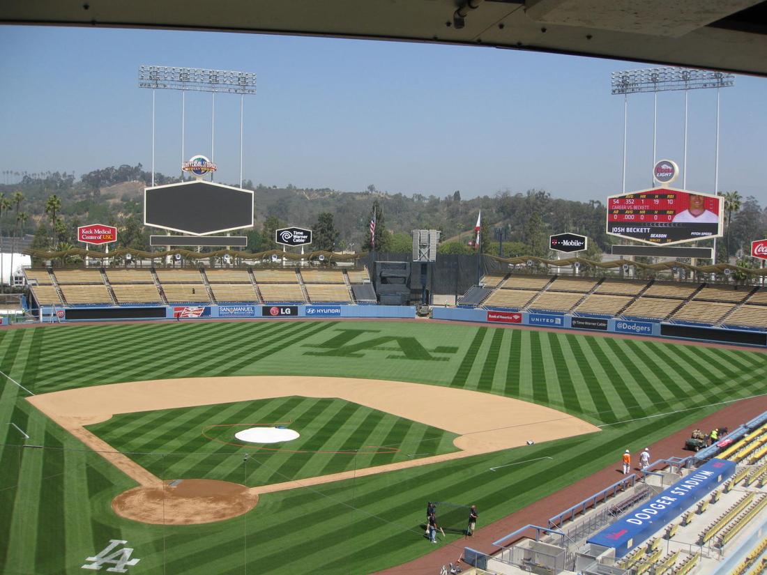 Dodger Stadium WDombek Ballparks Pinterest And Dodgers