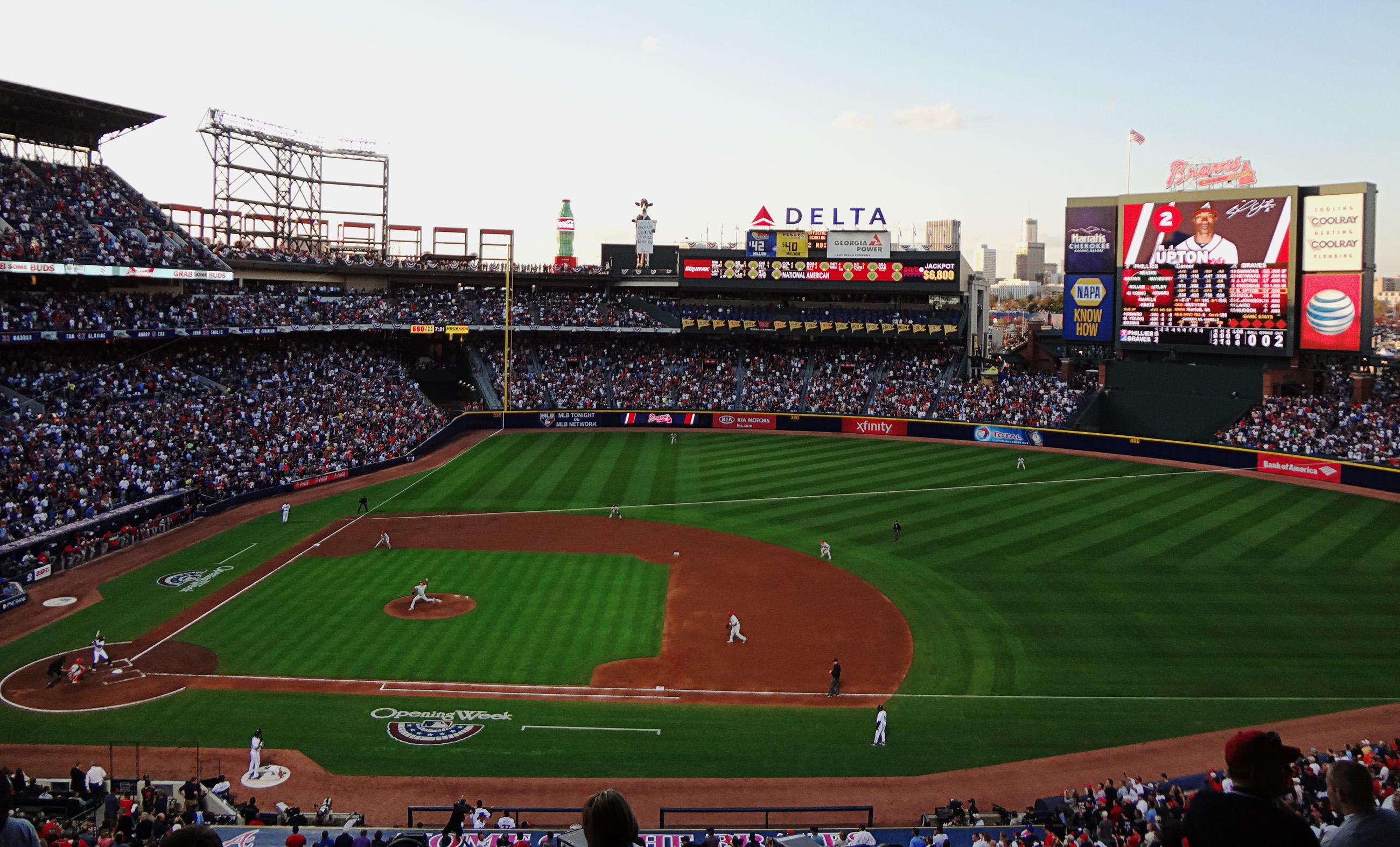 Turner Field... Yankee Stadium 2013
