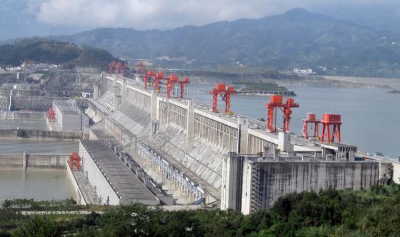 gestión del agua en china