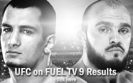 UFC on FUEL TV 9 Results