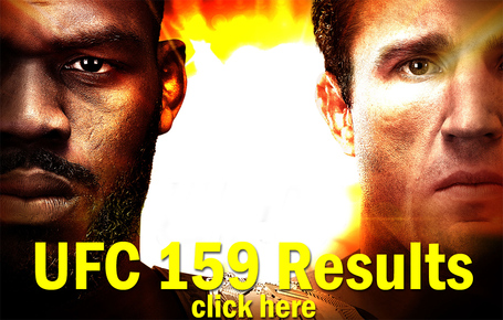 UFC 159 Results
