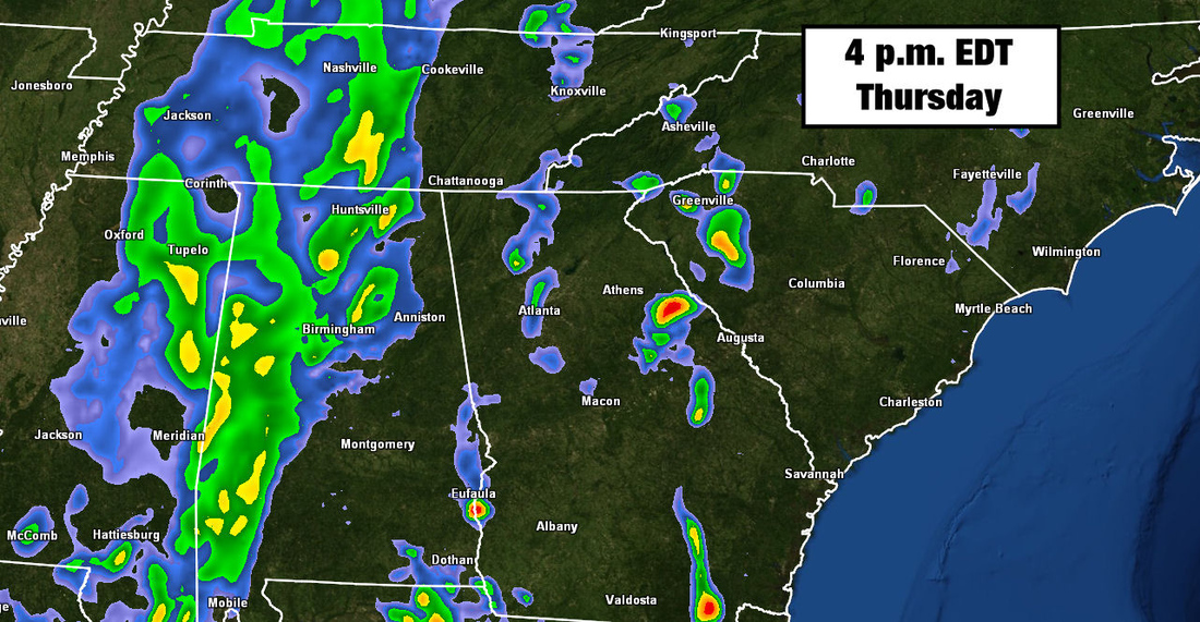 2013 Masters weather forecast: Storms threaten the first ...