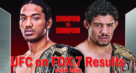 UFC on FOX 7 Results