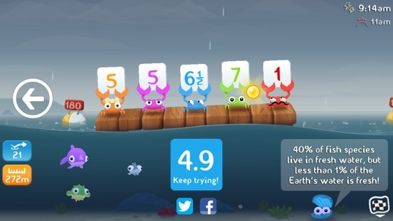 39 Fish Out Of Water 39 Is An Insanely Addictive Game From The