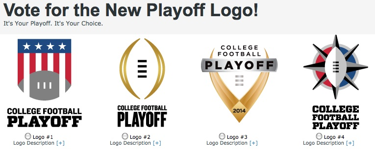 College Football Playoff Having Logo Vote With Trophy Intrigue